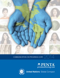PENTA UN Global Compact COP Cover 2014
