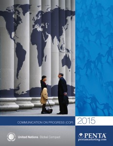 PENTA UN Global Compact COP Cover 2015